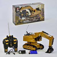 Экскаватор на радиоуправлении Small Toys ХМ 6811 L звук (2-58669)