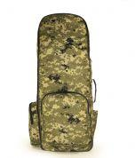 Рюкзак для металошукача і лопати Digger Standart (піксель, пісочний)