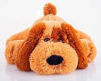 Плюшевая Собачка Шарик 55 см медовый