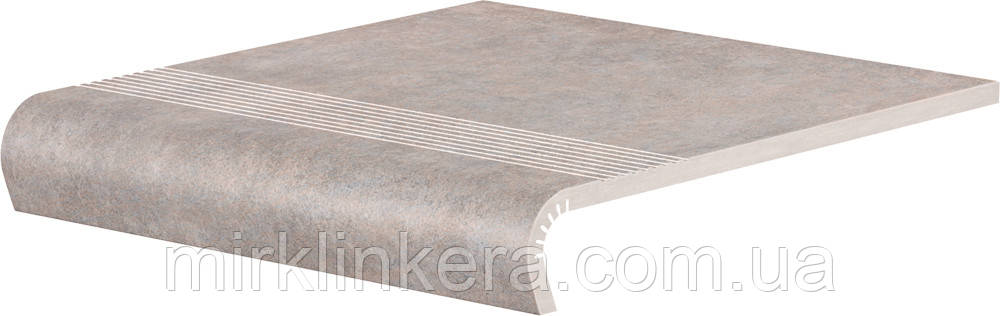 Клинкерная ступень Cerrad V-shape Cottage Salt