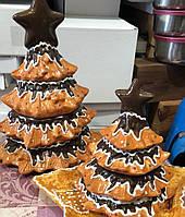 Банка для сладостей керамическая Елка-печенье 2л, фото 1