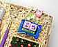 """Бокс """"Набор для нового года"""": календарь, печенье, игристое, хлопушка, серпантин, огни, чесалка для спины, фото 9"""