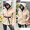 Куртка из эко кожи на синтепоне 150, четыре цвета, фото 5