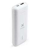 Батарея універсальна Vinga 10000 mAh glossy white (VPB1MWH), фото 6
