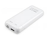 Батарея універсальна Vinga 10000 mAh glossy white (VPB1MWH), фото 4
