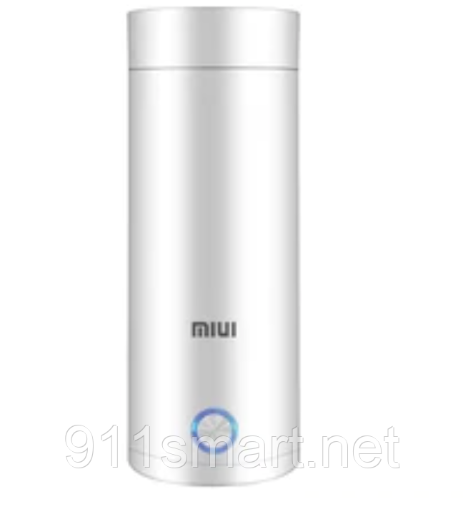 Портативный мини туристический электро чайник термос Xiaomi MIUI