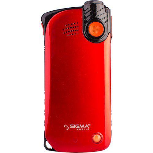 Задняя Панель Корпуса (Крышка) для Sigma mobile Comfort 50 LIGHT | Light Dual SIM (Красный)