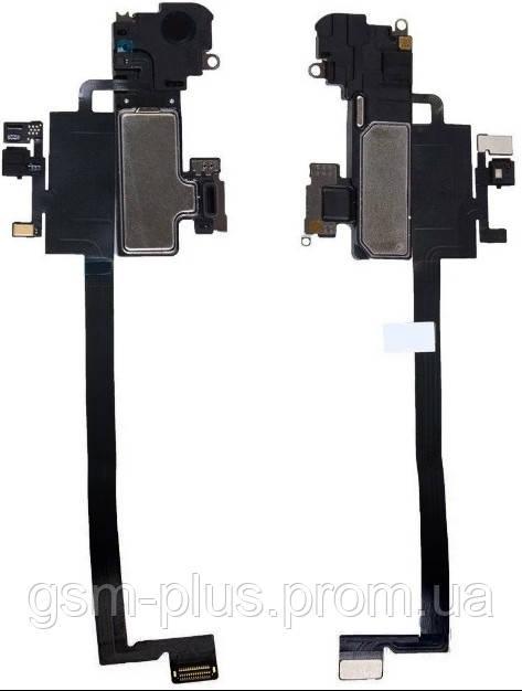 """Шлейф iPhone X (5,8"""") с датчиком освещения и динамиком"""