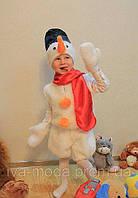 """Дитячий новорічний карнавальний костюм """"Сніговик"""""""