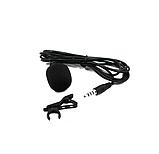 Компактный проводной микрофон MEDIA MICROPHONE DM M1 для большинства видов устройств Черный, фото 2