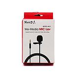 Компактный проводной микрофон MEDIA MICROPHONE DM M1 для большинства видов устройств Черный, фото 3
