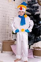 Дитячий новорічний костюм Сніговика