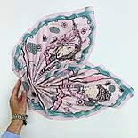 10426-3, павлопосадский платок хлопковый (батистовый) с подрубкой, фото 6