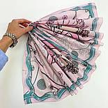 10426-3, павлопосадский платок хлопковый (батистовый) с подрубкой, фото 8