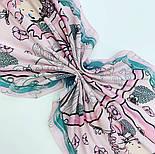 10426-3, павлопосадский платок хлопковый (батистовый) с подрубкой, фото 5