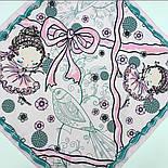 10426-3, павлопосадский платок хлопковый (батистовый) с подрубкой, фото 10