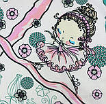 10426-3, павлопосадский платок хлопковый (батистовый) с подрубкой, фото 2