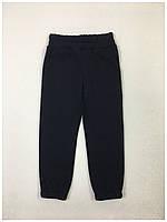 Спортивные трикотажные брюки на флисе для девочки код 0309