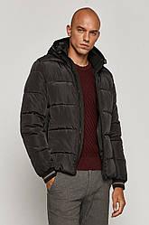 Зимняя короткая чёрная мужская куртка Medicine
