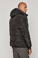 Зимова коротка чорна чоловіча куртка Medicine, фото 2