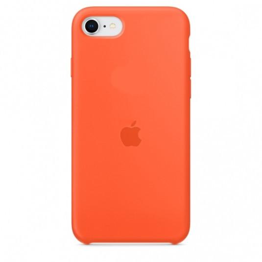 Силиконовый чехол накладка Silicone Case (high copy) iPhone 7 / iPhone 8 / SE 2  Оранжевый