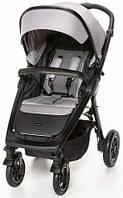 Прогулочная коляска для девочки ,серая,стильная,качественная.Espiro Sonic Air 07 Gray Center