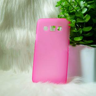 Чехол Samsung A3 розовый