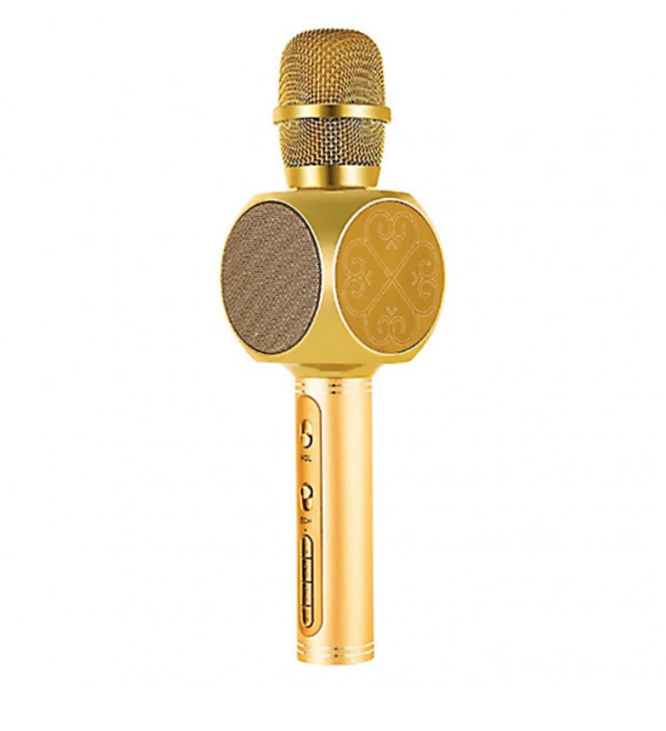 Микрофон караоке Magic Karaoke YS63 Gold (300332GL)