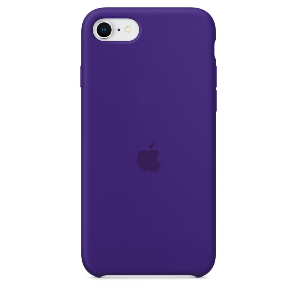 Силіконовий чохол накладка Silicone Case (high copy) iPhone 7 / iPhone 8 / SE 2 Фіолетовий