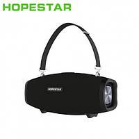 Портативная колонка HOPESTAR H1 c Караоке, Bluetooth, USB и MicroSD (микрофон+блок питания)