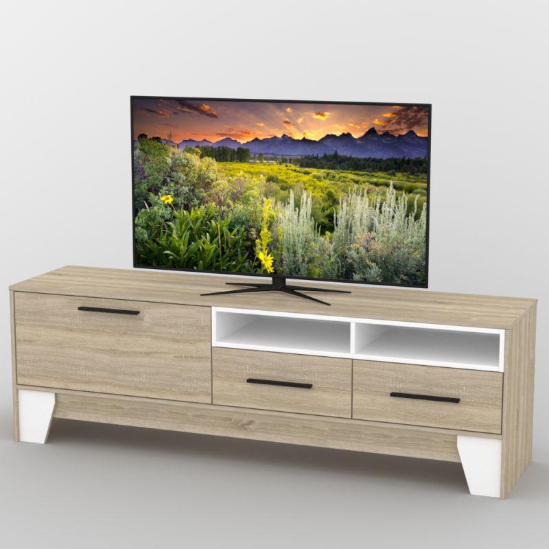 Тумба под телевизор Тиса ТВ-366. Разные размеры и раскраски. Можно покупать отдельные комплектующие.