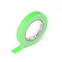 Флуоресцентная клейкая лента Le Mark PRO-GAFFER™ TAPE FLUORESCENT 19MM X 25YDS Green(PROGAFF19NGN)