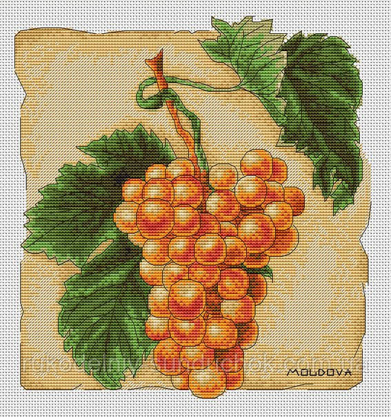 Набор для вышивки крестом Luca-S B296 Виноград
