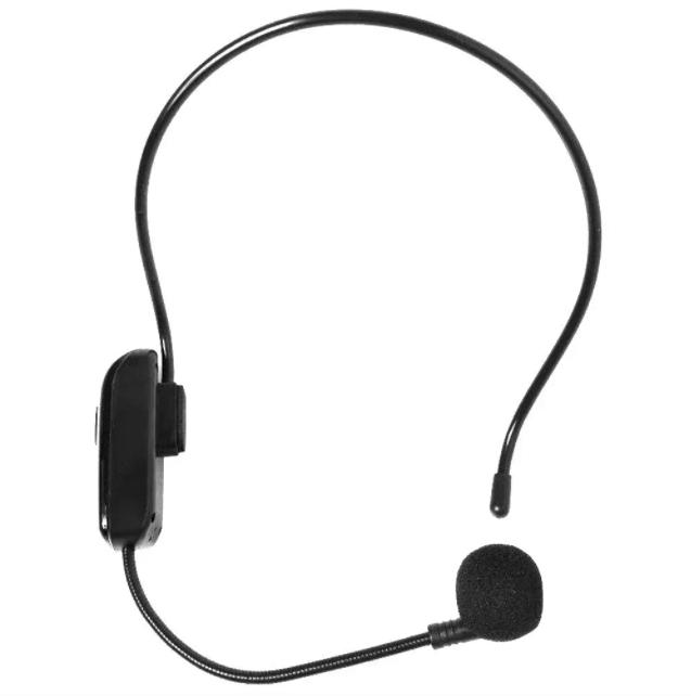 Портативный головной микрофон WIRELESS FM RADIO E020 / WR 720 Черный