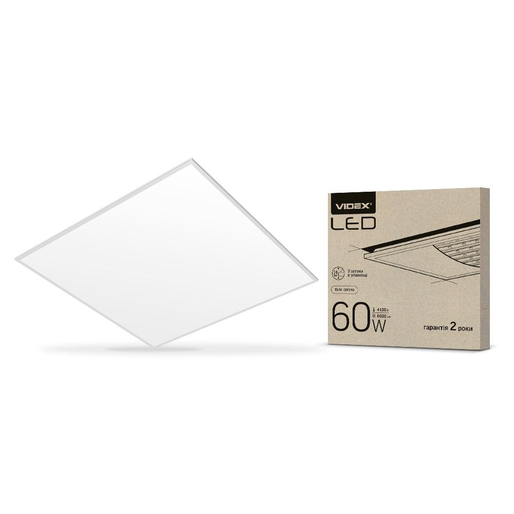 LED панель VIDEX 60W 6000K матовая VL-Pb606W(2) 25809