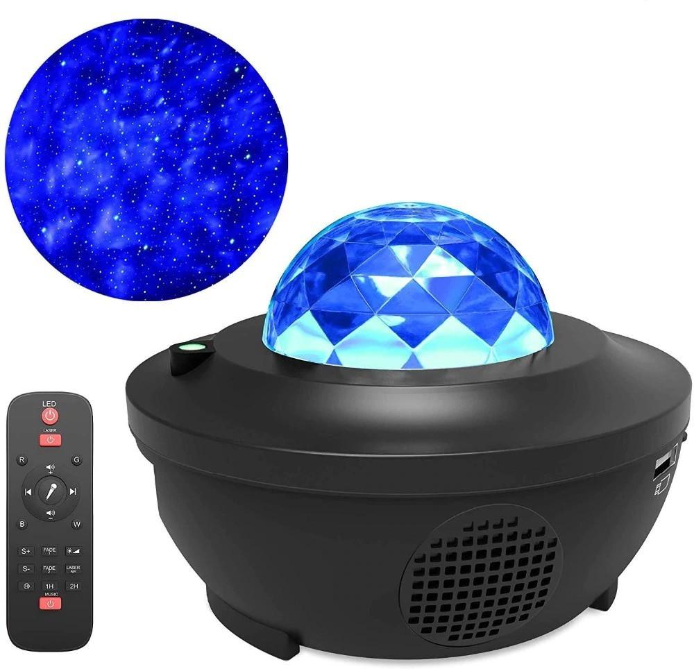 Цветной светодиодный проектор звездного неба музыкальный ночник