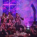 Цветной светодиодный проектор звездного неба музыкальный ночник, фото 6