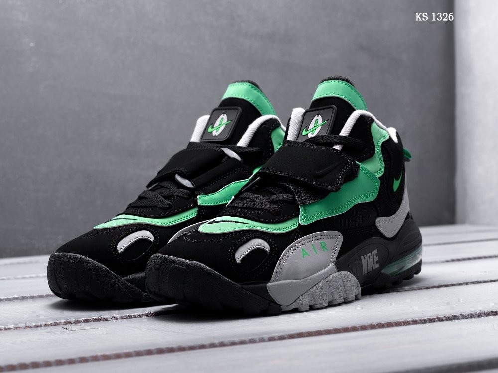 Nike Sportswear Air Max Speed Turf (серо/зеленые) cas