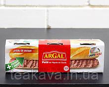 Паштет печеночный свиной Argal Pate, 3шт*83г (Испания)