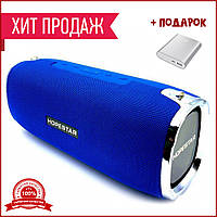 Портативная колонка Hopestar A6 ORIGINAL blue. Хоп стар оригинал синяя