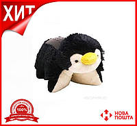 Детский ночник-проектор звездное небо Пингвин