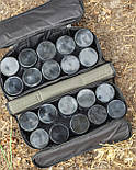 Сумка для хранения и транспортировки бойлов, с 20-ма банками в комплекте, 2 отделения, водонепроницаемая, фото 10