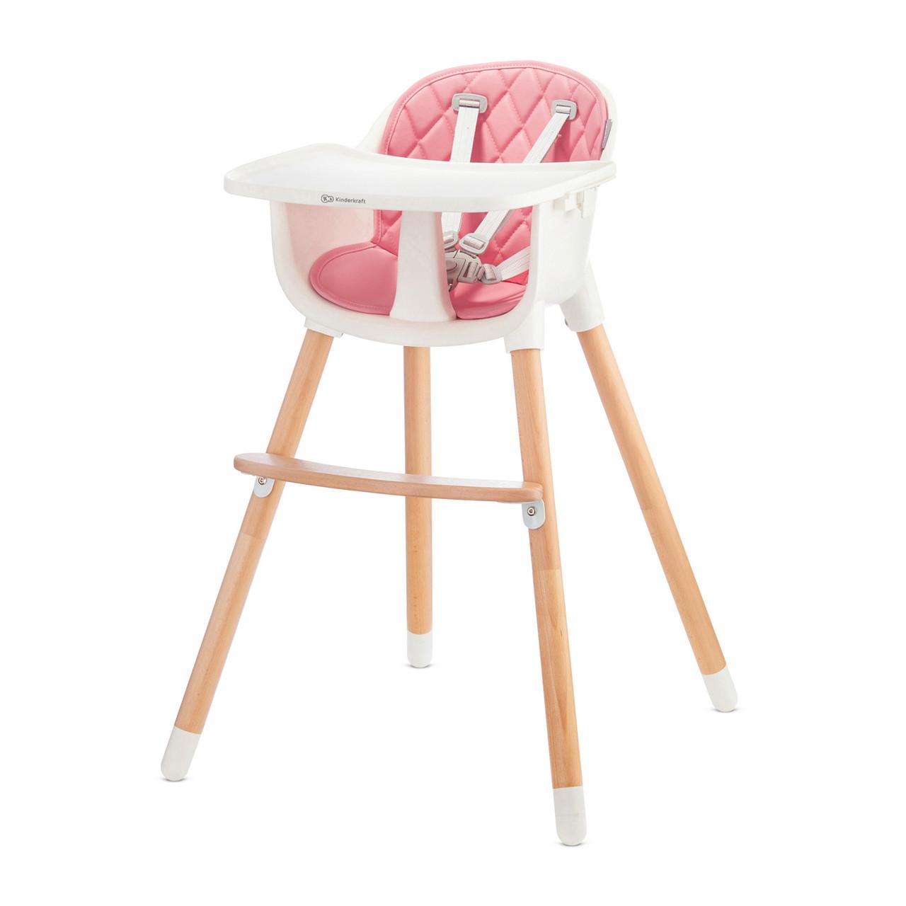 Стільчик для годування Kinderkraft Sienna Pink