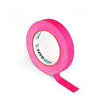 Флуоресцентная клейкая лента Le Mark PRO-GAFFER™ TAPE FLUORESCENT 19MM X 25YDS Pink(PROGAFF19NPK)