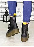 Ботинки зимние натуральная кожа Mart!ins Lace 7183-28з, фото 4