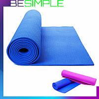 Коврик для йоги и фитнеса Power System Fitness Yoga
