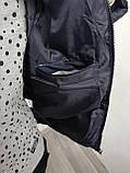 Куртка чоловіча зимова синя з капюшоном 4 кольори, фото 5