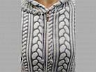 Кофта женская теплая с капюшоном из Well Soft Украина р54 ассорти 20038885, фото 4
