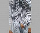 Кофта женская теплая с капюшоном из Well Soft Украина р54 ассорти 20038885, фото 3