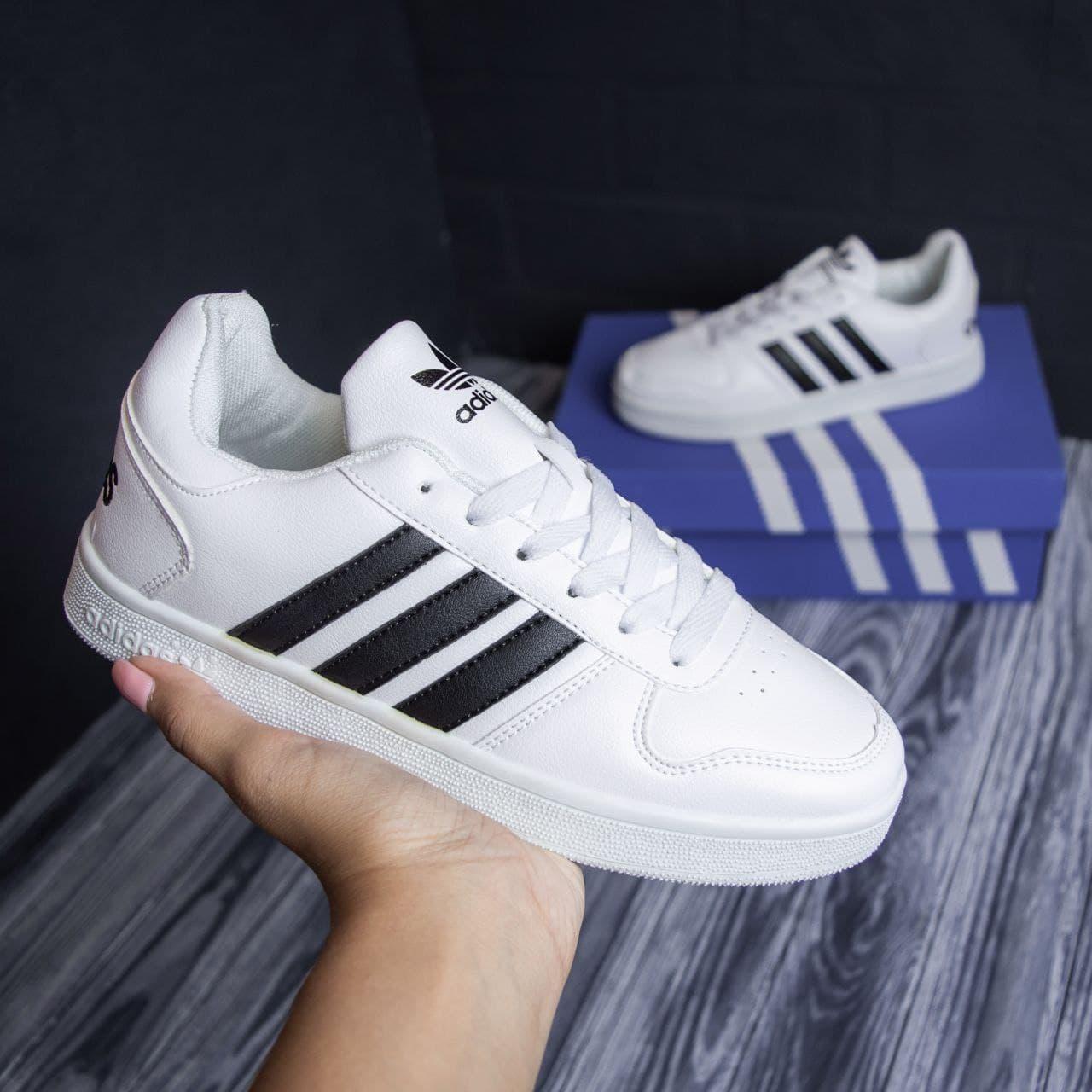 Женские кроссовки Adidas White / Адидас Белые